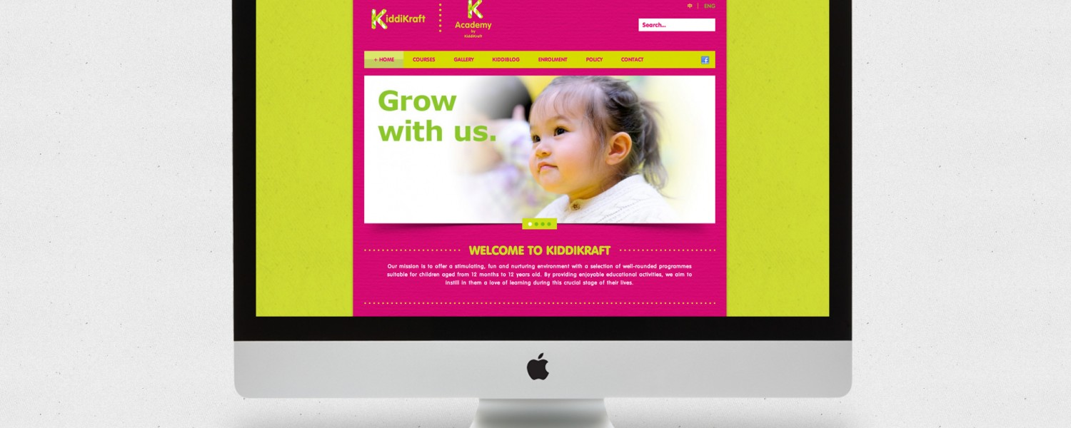 KiddiKraft & K Academy Website