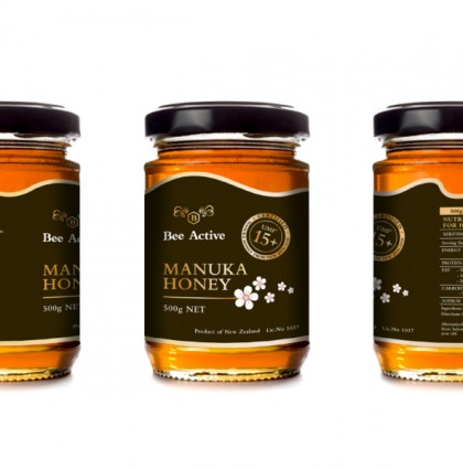 <span>Bee Active</span> Manuka Honey Brand Identity