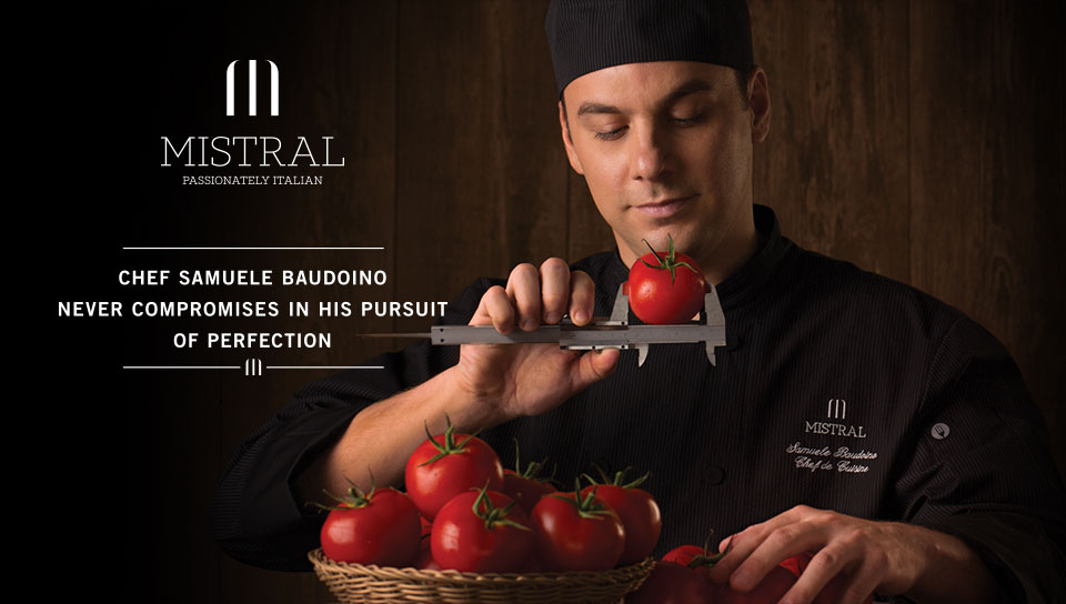 Mistral Italian Restaurant Branding for Intercontinental Grand Stanford Hong Kong